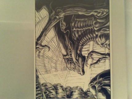 """aliens art template#4"""