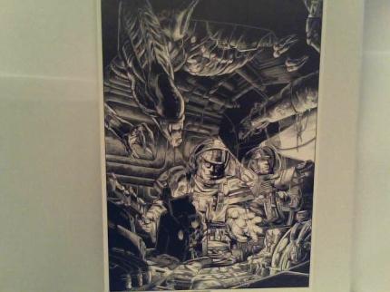 """aliens art template#1"""