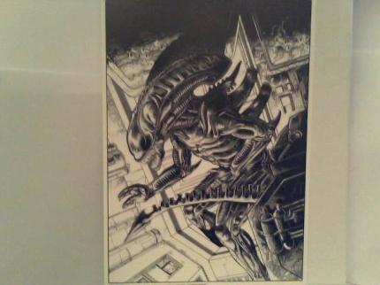 """aliens art template#6"""