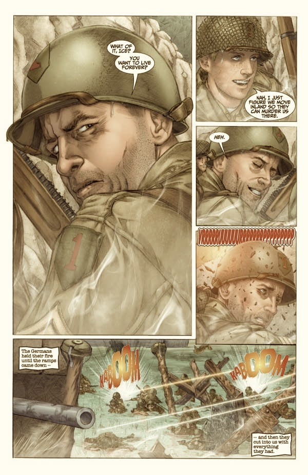 SGT.ROCK the lost battalion comic review   Thunderscorpion's comic ...