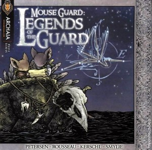 Mouse Guard Legends of the Guard#4