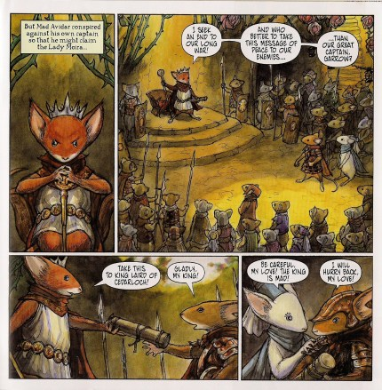 Mouse Guard Legends of the Guard #4