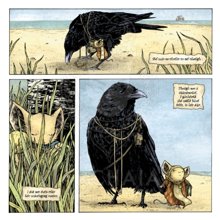 Mouse Guard The Black Axe #1