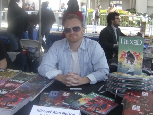 Michael Allen Nelson Writer of the 28 Days Later comics