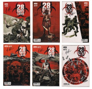 Signed 28 Days Later comics