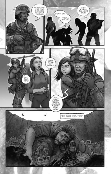 the last zombie # 3