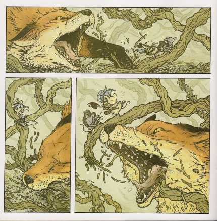 Mouse Guard: The Black Axe #4