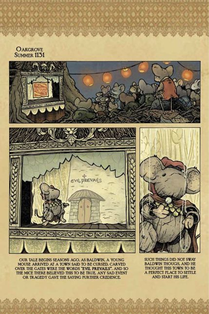 Mouse Guard/Labyrinth and other storys HC Free Comic Book Day 2012