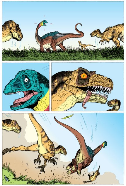 Age of Reptiles #1