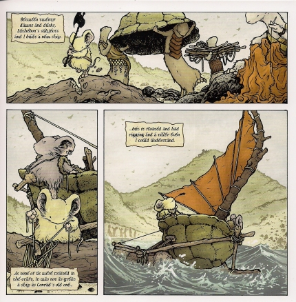 Mouse Guard; The black axe #5