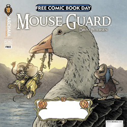 mouse guard/ Rust flip book