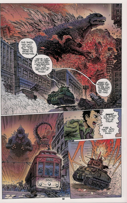 godzilla the half century war #1